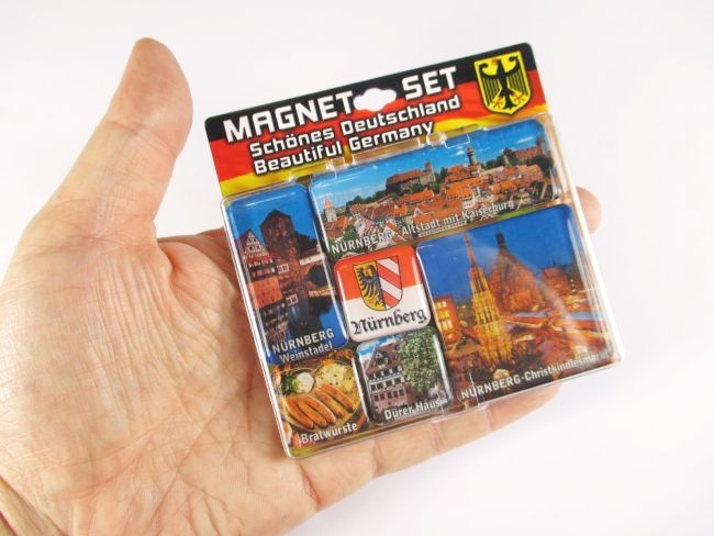 n rnberg d rer haus germany magnet set souvenir 6 tlg neu ebay. Black Bedroom Furniture Sets. Home Design Ideas