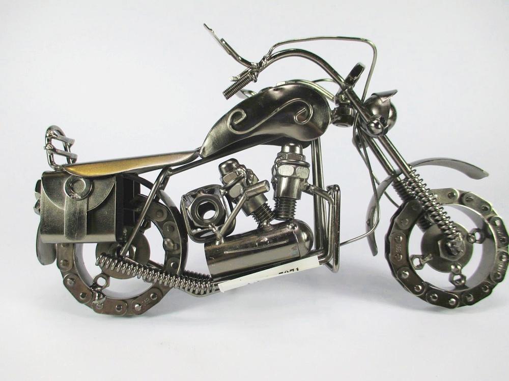 motorrad modell bike aus metall motorcycle super design 24. Black Bedroom Furniture Sets. Home Design Ideas