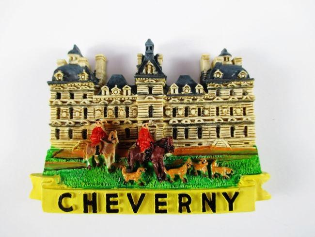 Magnet Cheverny Polyresin,Souvenir Frankreich France,Neu *