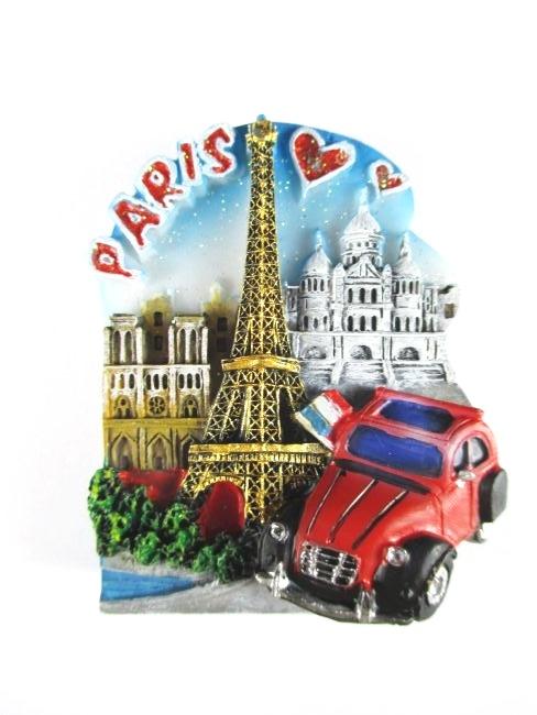 Alsace france france souvenir magnet poly 3d look 7 cm for Magvet mulhouse