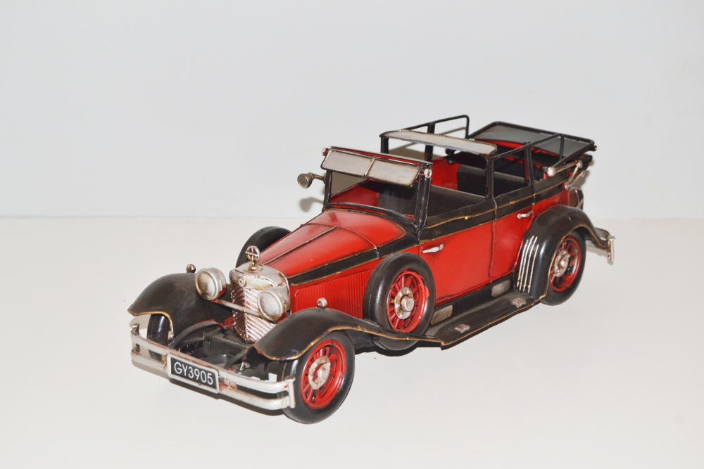 Modellauto RR Silver Shadow Nostalgie Blechmodell,Metall 37 cm Ko Neu