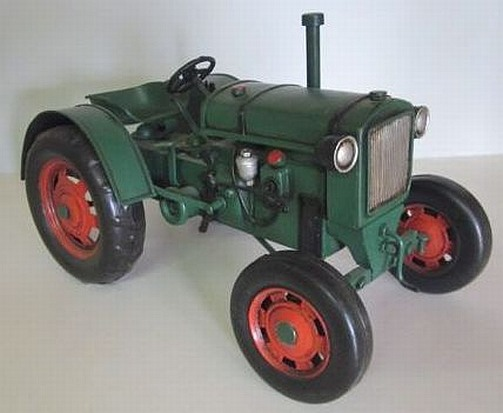 traktor deutz 1949 nostalgie blechmodell trecker tractor. Black Bedroom Furniture Sets. Home Design Ideas