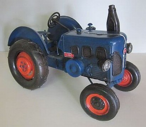 traktor lanz bulldog nostalgie blechmodell trecker tractor. Black Bedroom Furniture Sets. Home Design Ideas