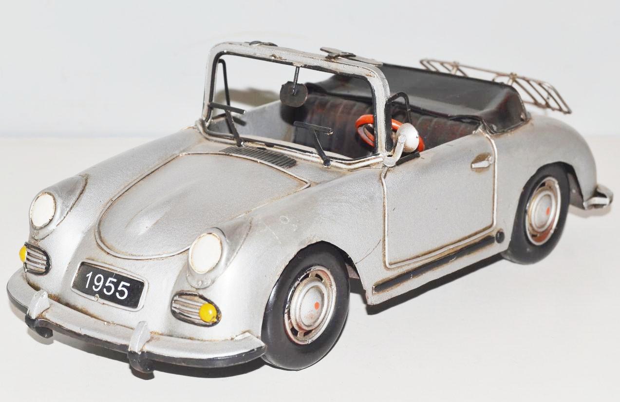 Neu Ko Modellauto Silberpfeil Nostalgie Blechmodell,Metall 29 cm