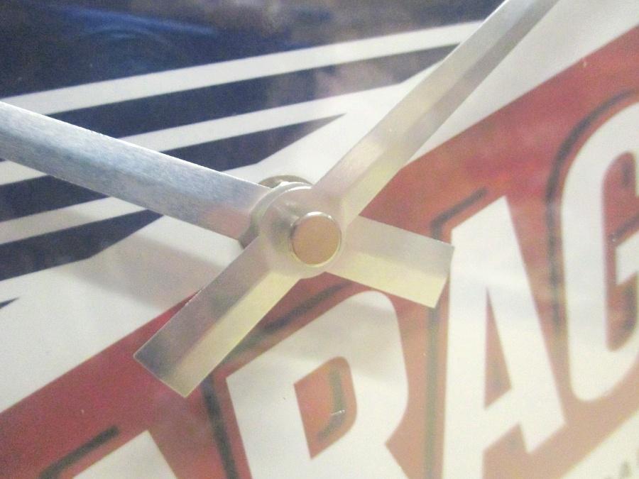 Vespa Roller Garage Nostalgie Wanduhr Glas 31cm Wall Clock