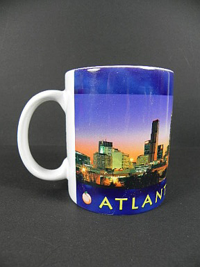 ATLANTA Georgia Skyline Kaffeetasse Kaffeebecher,USA Souvenir Tasse,Coffee Mug