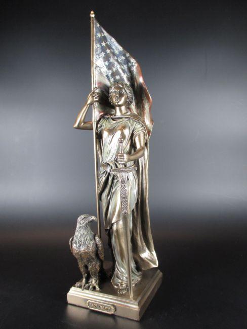 Justitia Figur stehend,Veronese Kollektion.,bronziert,für Anwalt,Gerich etc..