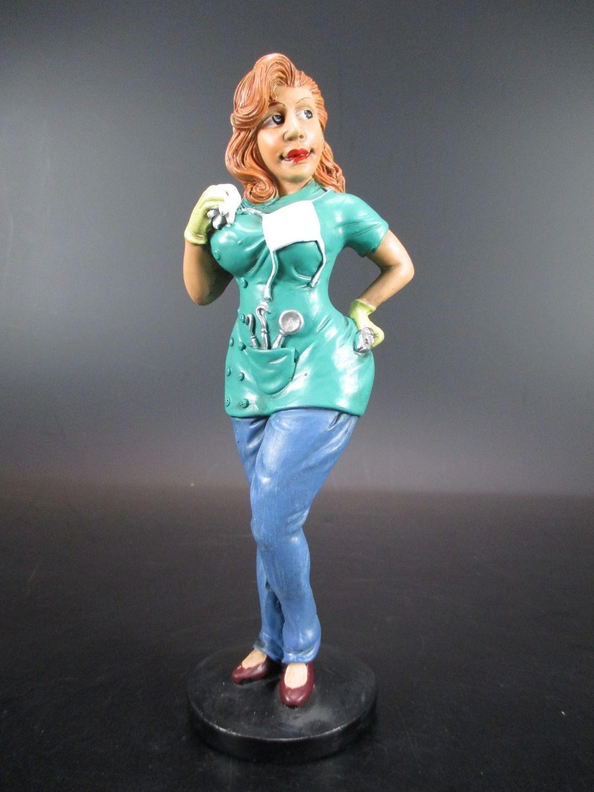 y Krankenschwester Nurse Funny Job Beruf Figur Profession 16 cm