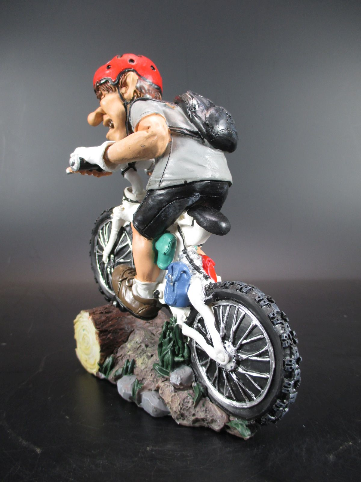 Mountainbiker Fahrrad Bike 17 cm Sport Funny Figur Kollektion Neu