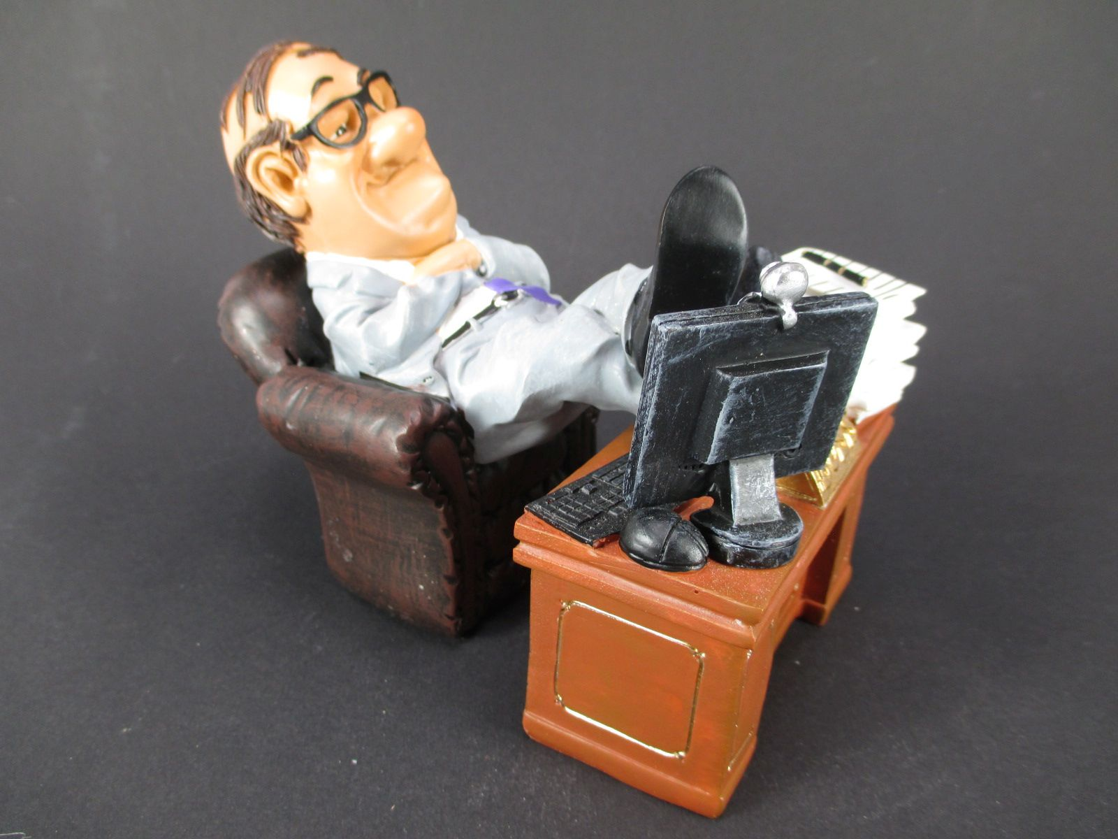 Kartenspieler Funny,14 cm,Beruf Profession Figuren Kollektion,Neu
