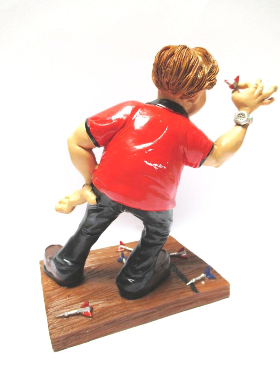 Dart Dartspieler Dartplayer,16 cm Sport Funny Figur Kollektion,Neu