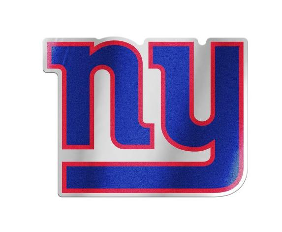 WinCraft Plank SCUDO in legno wood sign-NFL New York Giants