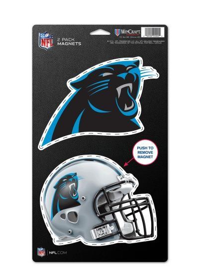 Gloves,gesticktes Logo,NFL Football,NEU ! Carolina Panthers Handschuhe