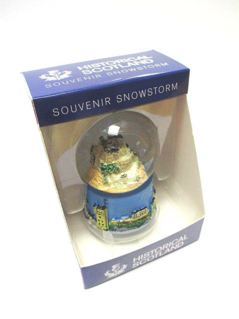 Edinburgh Escocia Bola de Nieve Snowglobe 9 cm Recuerdo Reino Unido Escocia
