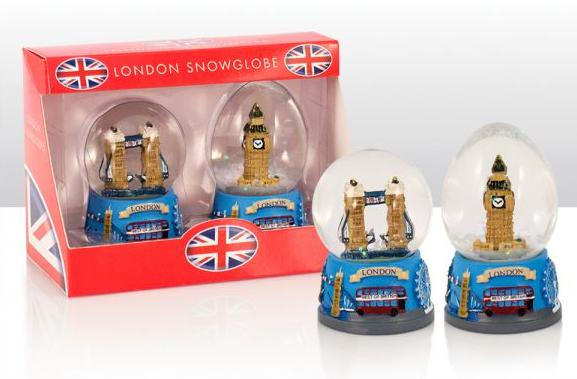 london schneekugel 2er tower bridge big ben snowglobe great britain 5031275709676 ebay. Black Bedroom Furniture Sets. Home Design Ideas