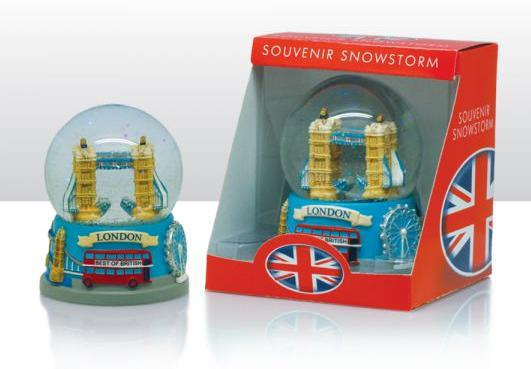 london schneekugel tower bridge eye red bus england snowglobe snowstorm ebay. Black Bedroom Furniture Sets. Home Design Ideas