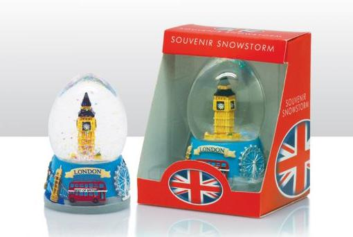 london schneekugel big ben eye red bus england snowglobe snowstorm ebay. Black Bedroom Furniture Sets. Home Design Ideas