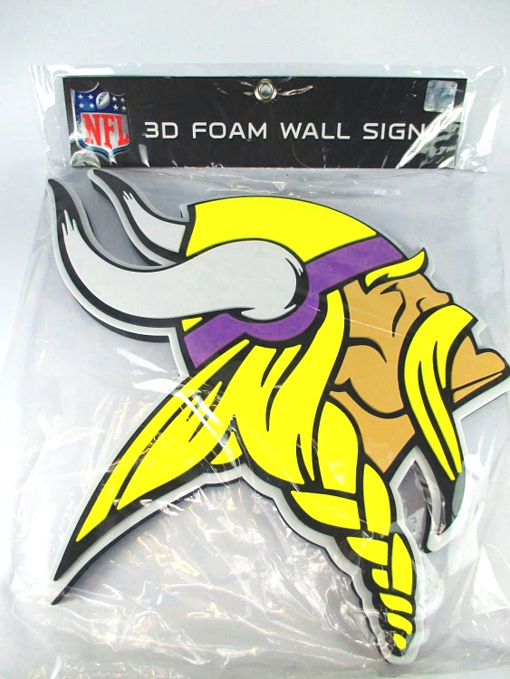 c04b567b Minnesota Vikings 3D Fan Foam Logo Sign Bild,NFL Football,Relief ...