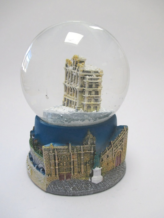 Salamanca Plaza Mayor Brunnen Schneekugel Spanien Souvenir Snowglobe