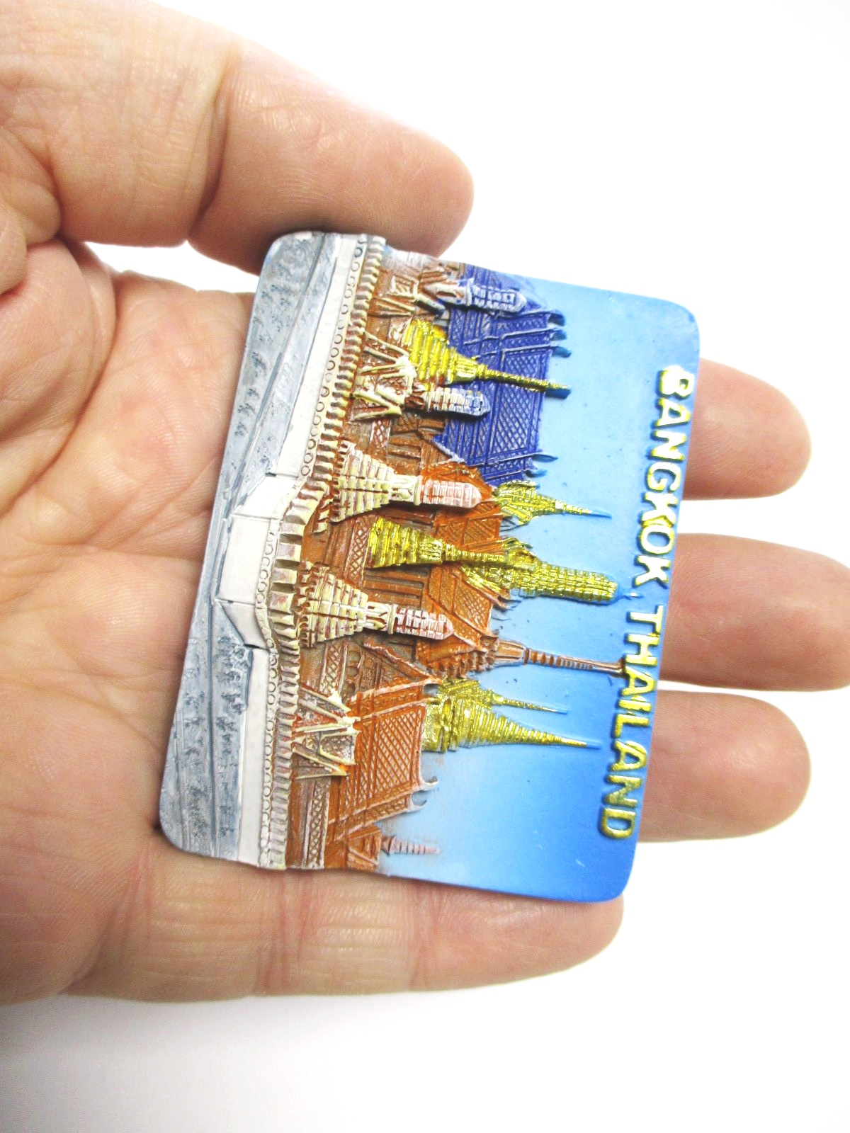 Doha Corniche Arabische Emirate,Fridge Poly Magnet Reise Travel Souvenir, 98