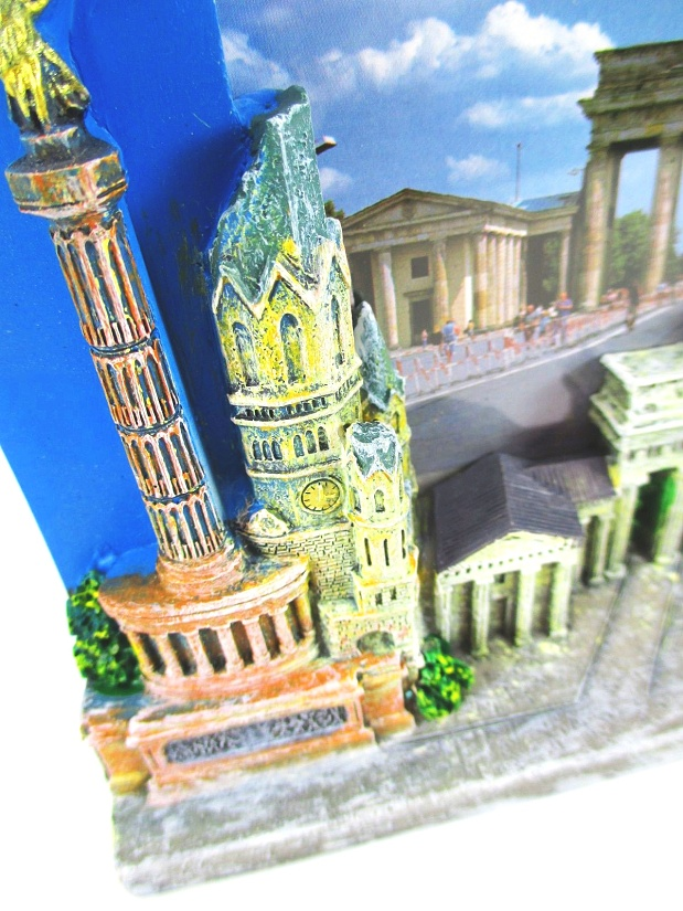 Bilderrahmen Souvenir Germany Magnet,Polyresin Deutschland,picture frame .