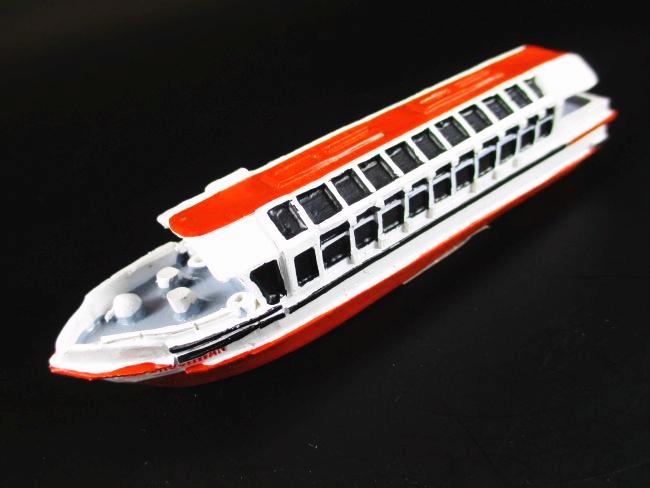 Schiff Modell Hafenschlepper Kalle Hamburg Hafen,8 cm Polyresin,Tanker