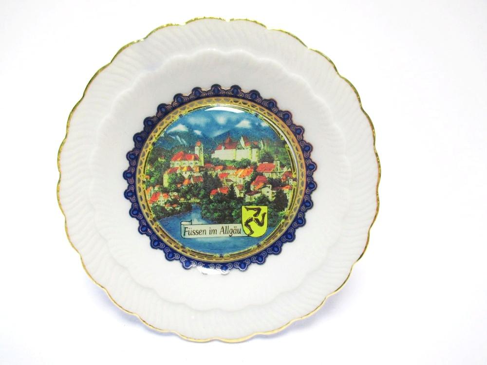 Schloss Neuschwanstein Premium Souvenir Magnet,Germany Bayern,Laser Optik !