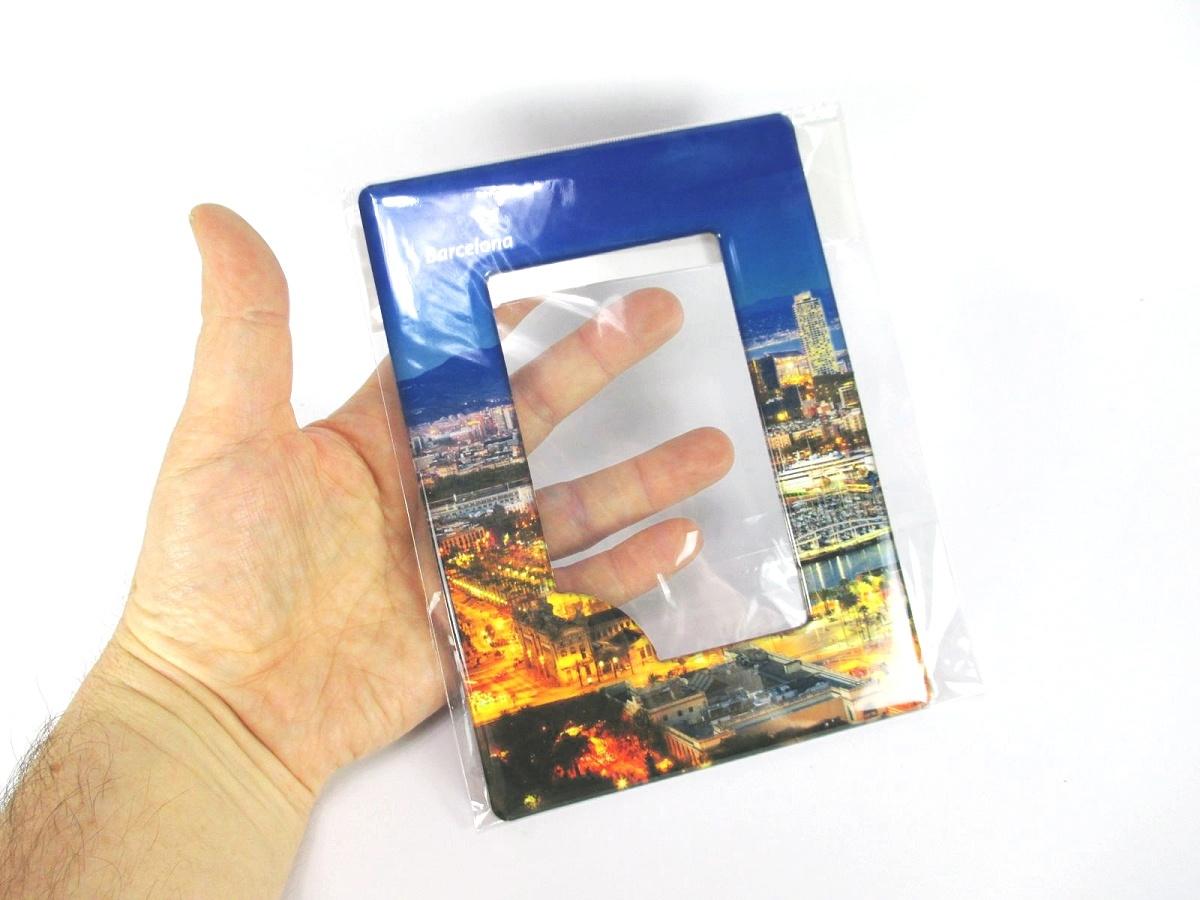 Spanien Espana Magnet Flagge Fahne Länder Design aus Epoxid Reise Souvenir